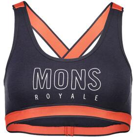 Mons Royale W's Stella X-Back Bra Coral/9 Iron